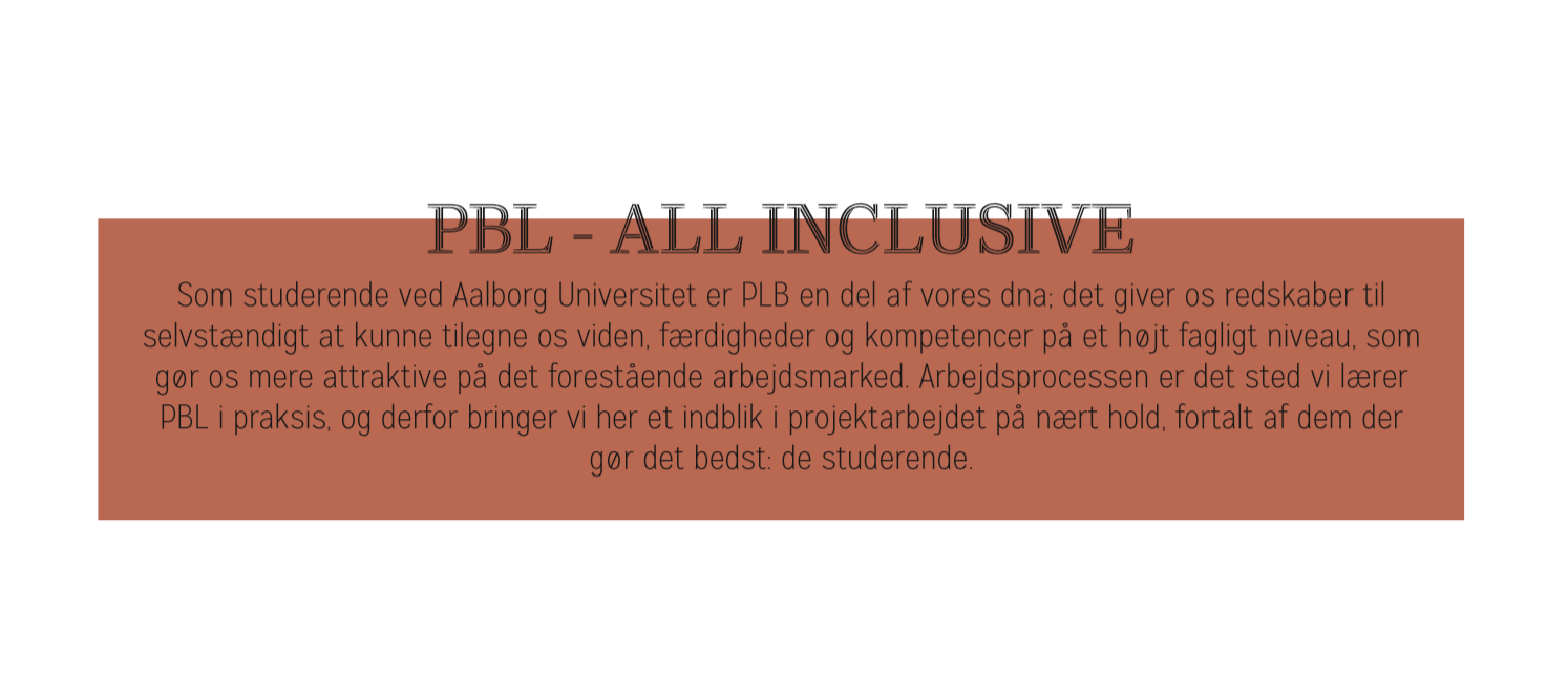 PBL – All inclusive