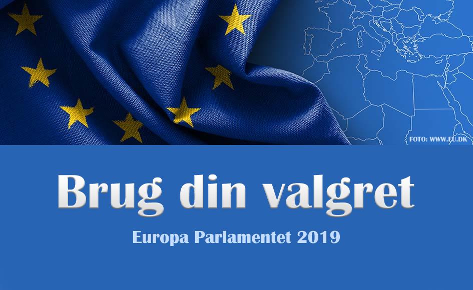 Brug din valgret – Valg til Europa Parlamentet 2019