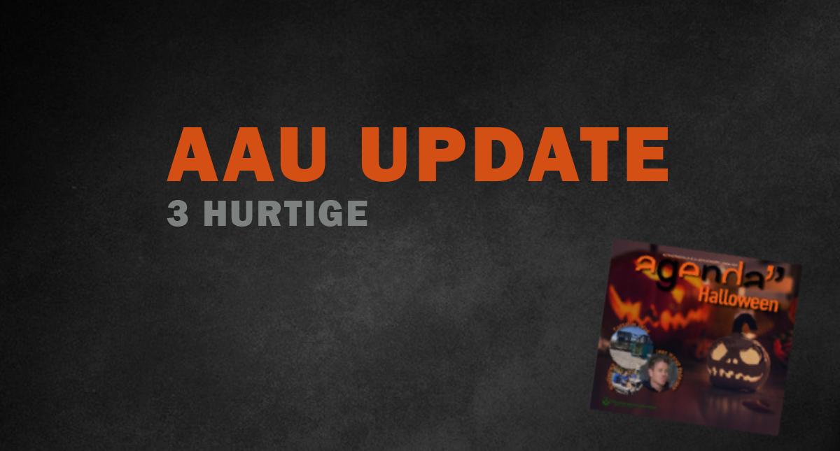 3 hurtige fra AAU Update