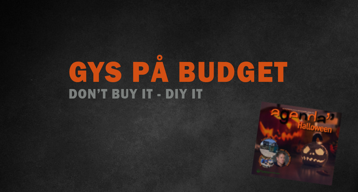 Gys på budget // Don't buy it – DIY it