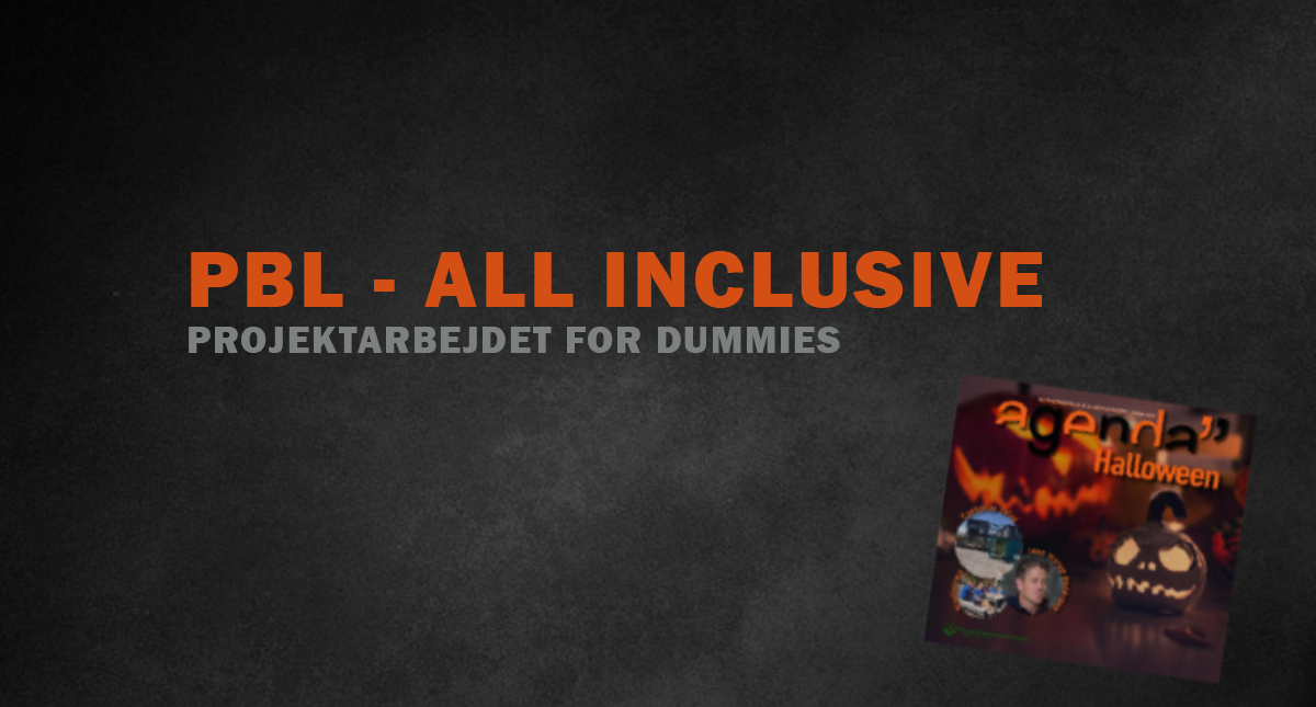 PBL – ALL INCLUSIVE // Projektarbejdet for dummies.